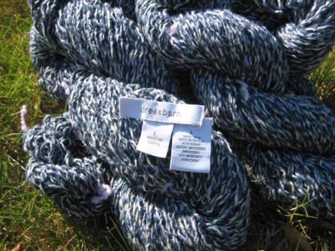Same yarn, different angle